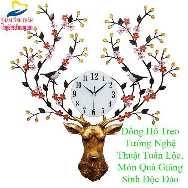 Đồng Hồ Treo Tường Nghệ Thuật Độc Đáo
