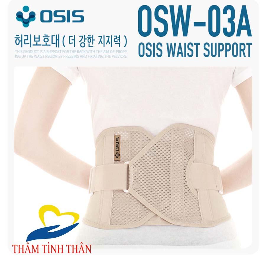 Đai Lưng Cột Sống Osis Osw 03A