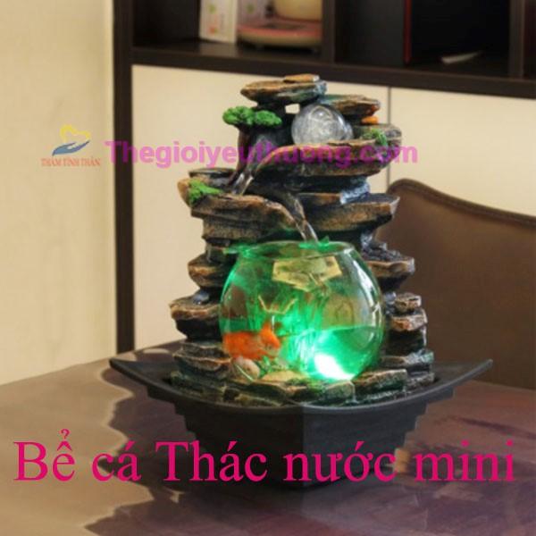 Thác nước mini phong thủy - Phong thủy luân May mắn Tài lộc !