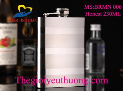 Bình đựng rượu inox mini chất liệu Inox 304 bền, đẹp, an toàn