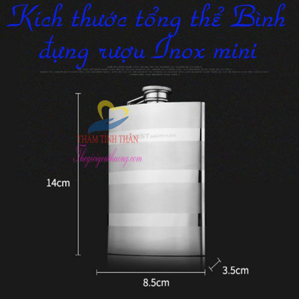Bình đựng Inox CCCP xuất | Hàng chất lượng, inox 304 dày