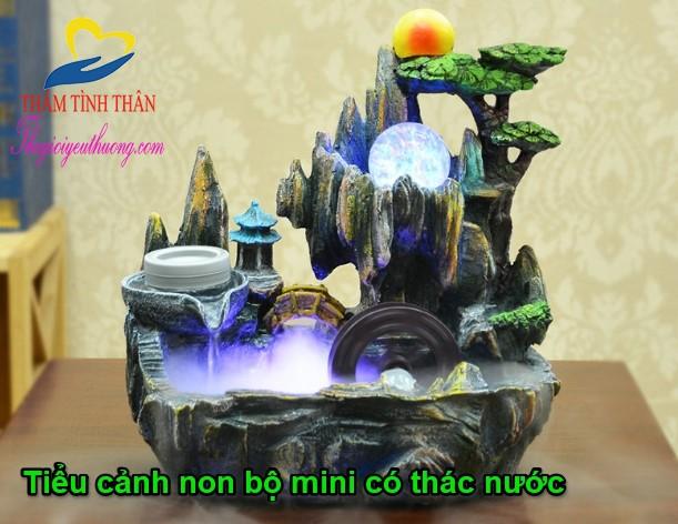 Tiểu cảnh non bộ mini Natra Vương Quốc Khỉ