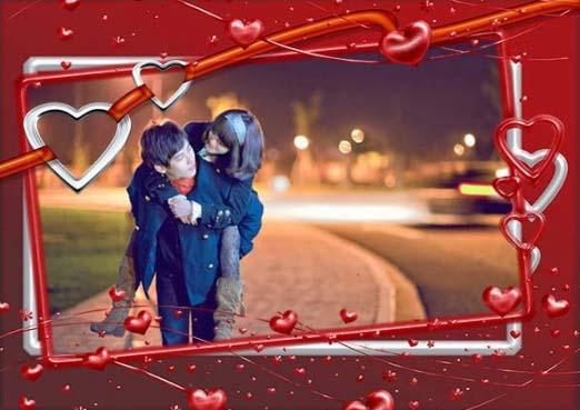 Khung hình tình yêu đích thị là món quà thú vị và lãng mạn nhứt