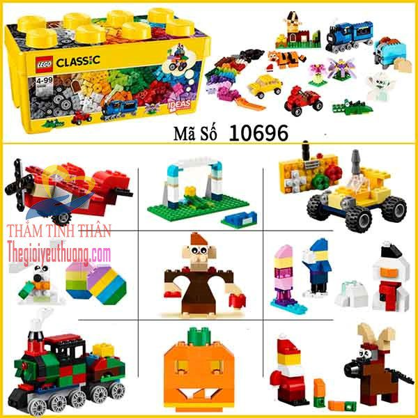 Đồ chơi lego rèn luyện tư duy phát triển trí tuệ cho trẻ