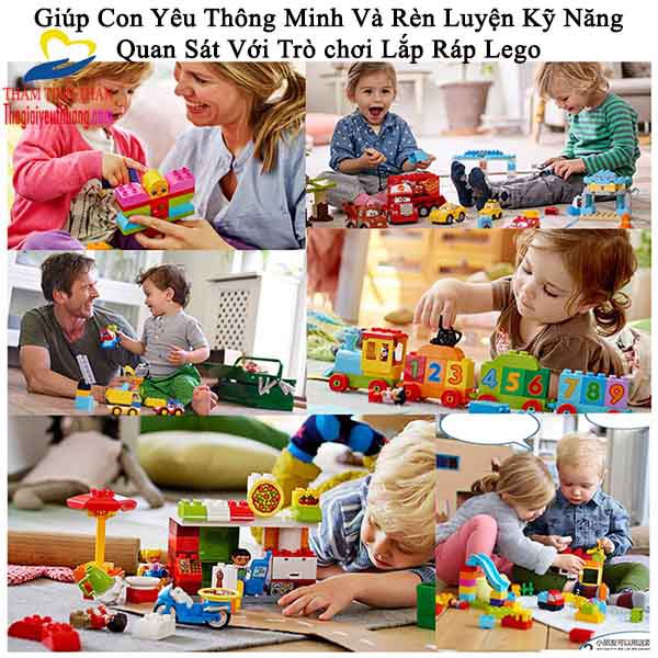 đồ chơi lego con gai