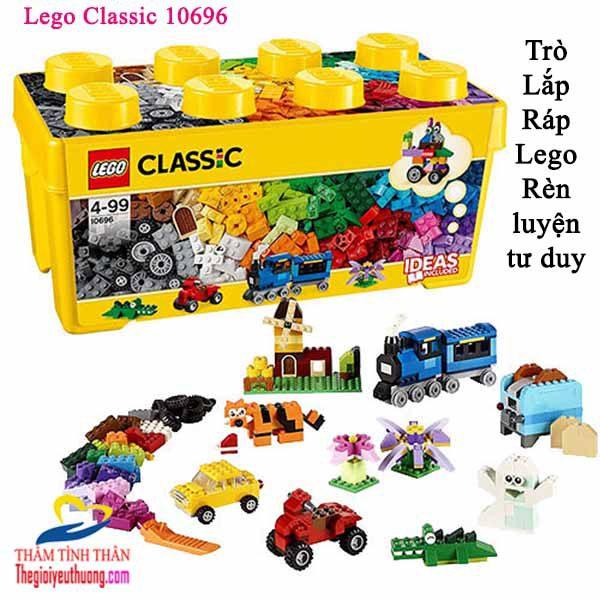 Đồ chơi lego Giúp trẻ thông minh HƠn