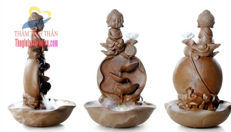 Thác nước phong thủy Phật Giáo