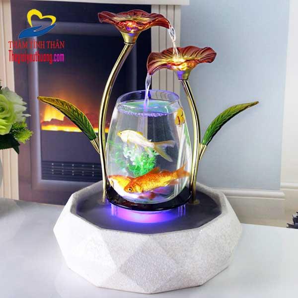 bể cá thủy sinh mini để bàn