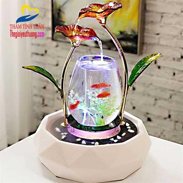 Bể cá mini bông thủy tinh