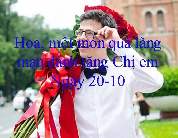 Hoa Hồng, món quà tặng 20/10 cho bạn gái Đơn giản Nhưng Vô cùng lãng mạn