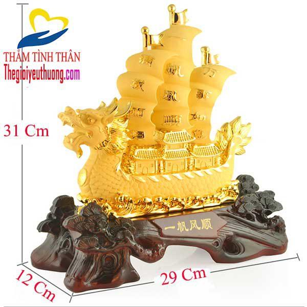 ý nghĩa phong thủy thuyền buồm
