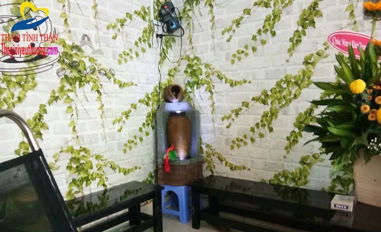 Tổng quan đài phun nước mini, món quà khai trương quán cafe độc đáo