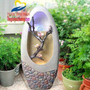 Thác nước mini phong thủy giúp Khu vườn nhỏ trở nên Lộng lẫy, mát mẻ