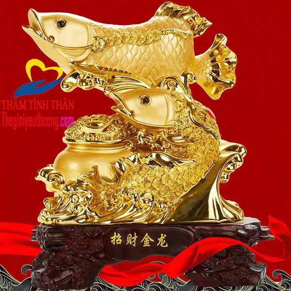 Tượng cá chép hóa rồng phong thủy đẹp, Ý nghĩa Độc đáo