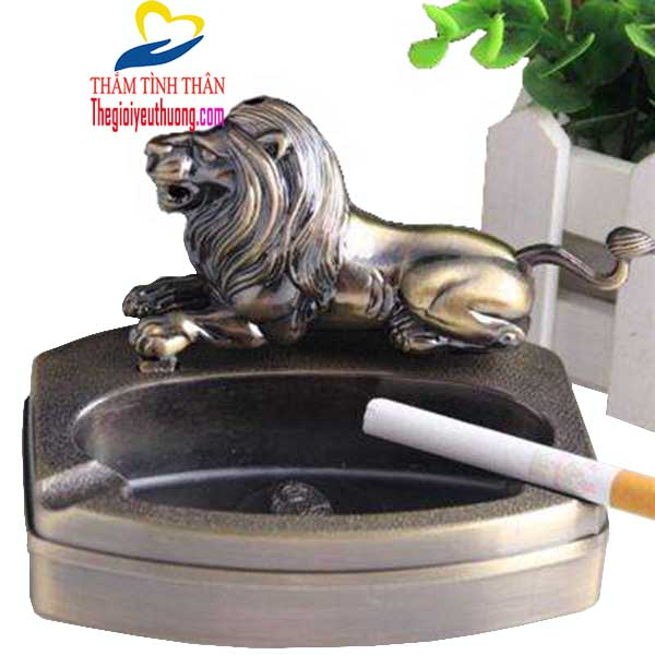Gạt tàn thuốc lá độc đáo bằng kim loại