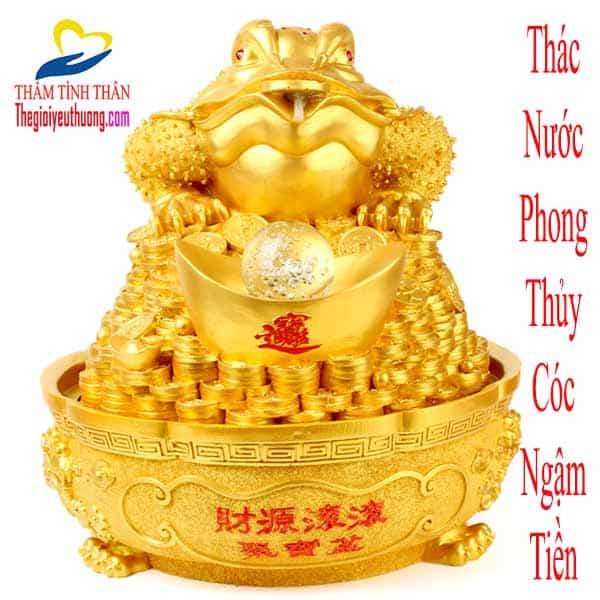 Cóc Ngậm Tiền Phong Thủy Chiêu Tài – Tịch Tà – Hộ Gia