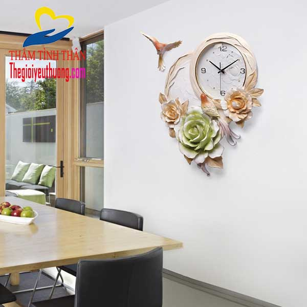 Đồng hồ treo tường nghệ thuật Công ty QUà tặng NATRA