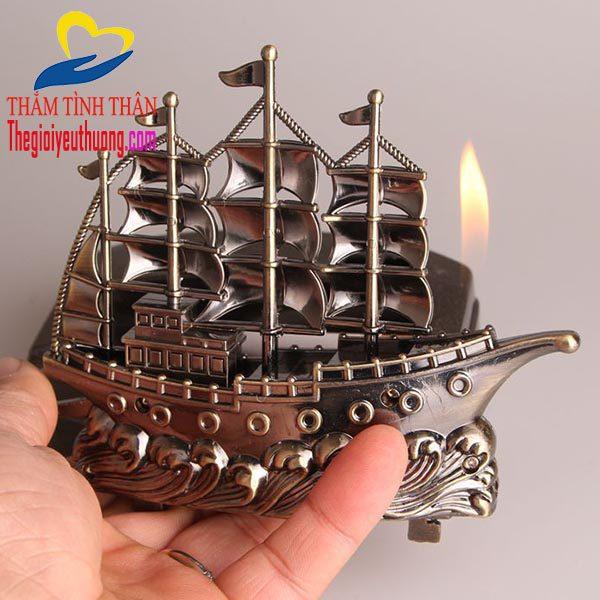 Mô hình thuyền buồm điểm nhất Quan trọng của CHiếc Gạt tàn thuốc Lá