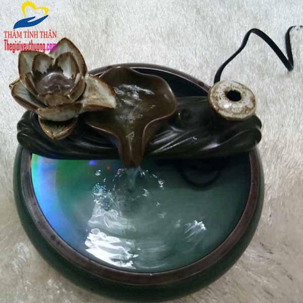 Thác nước mini phong thủy để bàn Dùng trang trí Bàn Khách
