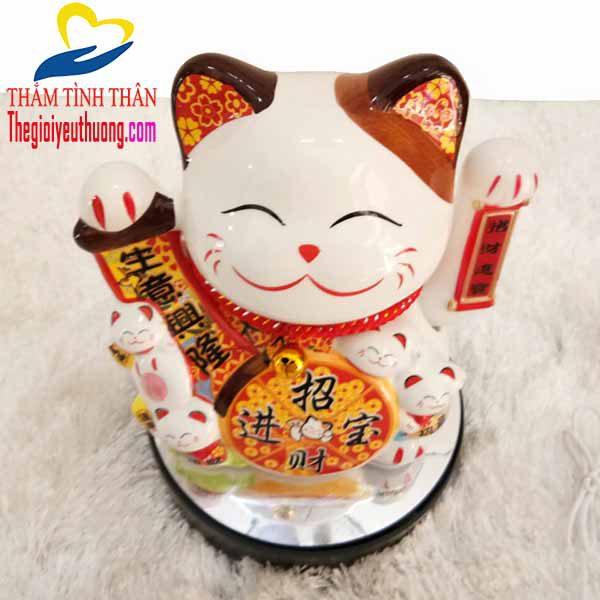 Mèo Chiêu Tài, Biểu tượng May mắn - Quà tặng NATRA