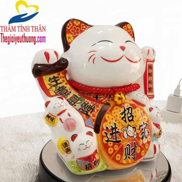 Mèo Thần Tài Maneki Neko, Biểu tượng May mắn - Quà tặng NATRA