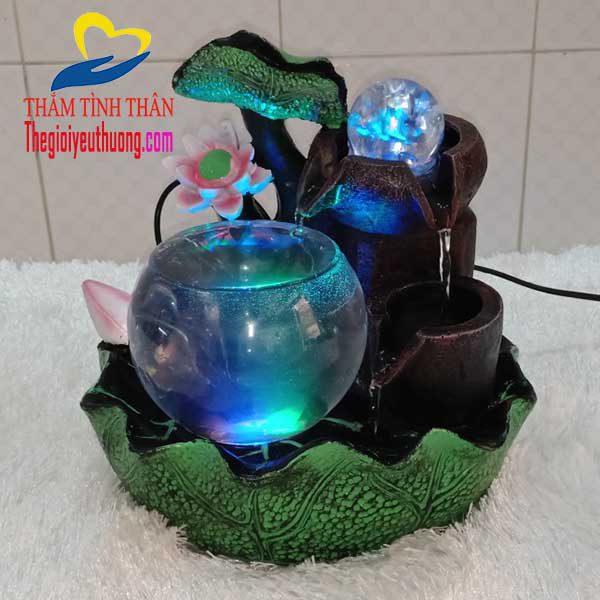 Bể cá thủy sinh thác nước phong thủy NATRA