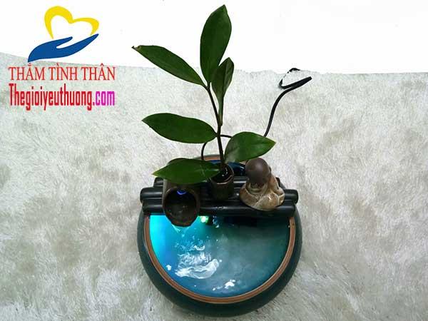 Chất liệu chế tạo thác nước mini hoàn toàn bằng Gốm sứ cao cấp