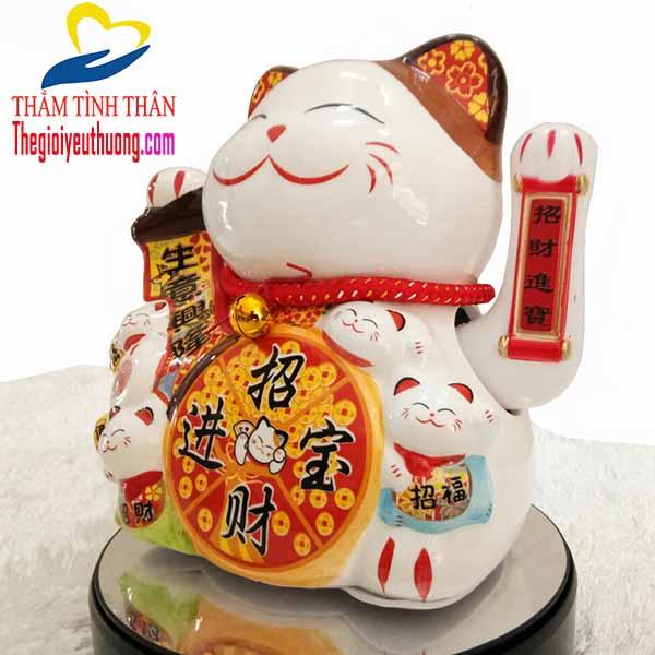 Mèo may mắn Maneki Neko, Biểu tượng May mắn - Quà tặng NATRA