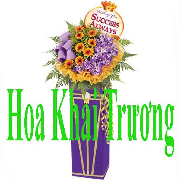 Hoa tặng Khai trương Công ty