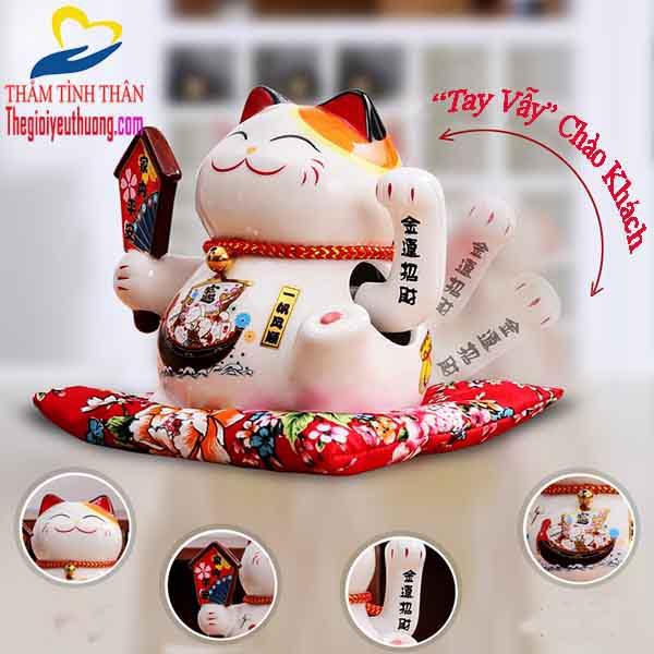Mèo chiêu tài Nhật Bản Quà Tặng NATRA