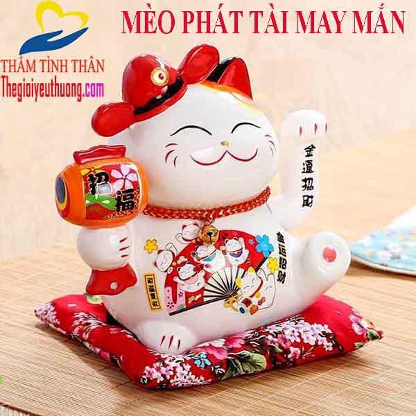 Mèo phát tài MANEKI NEKO mang đến may mắn và thịnh vượng