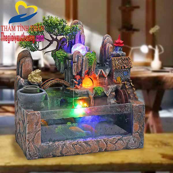 Hòn Nam Bộ Mini thác nước Phong thủy Natra, mang cảnh vật thiên nhiên về với ngôi nhà nhỏ