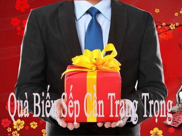 Món quà tặng Sếp bạn cần Phải Thể Hiện Một sự trang trọng