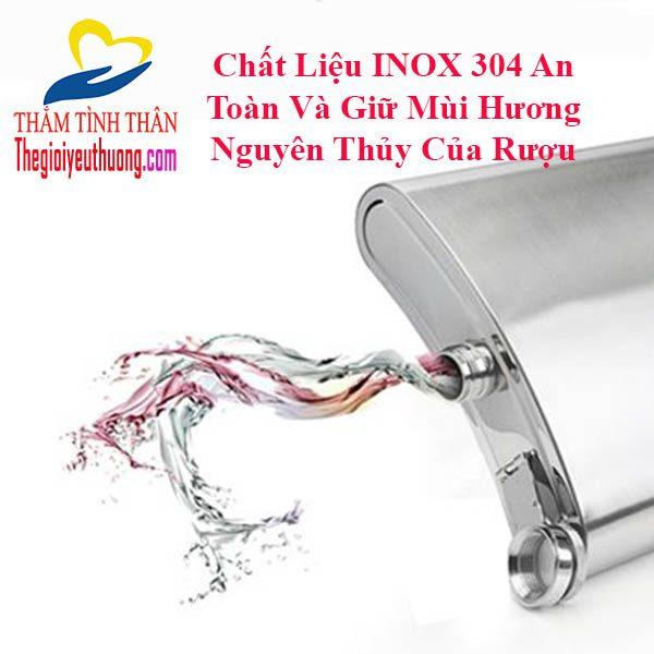 Bình đựng rượu inox cccp, giữ Hương vị rượu Nguyên thủy