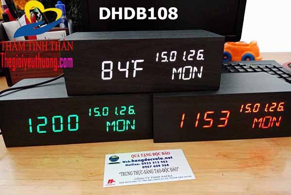 Đồng hồ điện tử LED để Bàn Báo Thức Siêu Độc