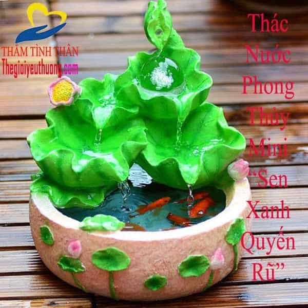 Đài phun nước nghệ thuật mini Phong thủy