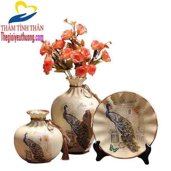 Bình hoa trang trí nội thất NATRA