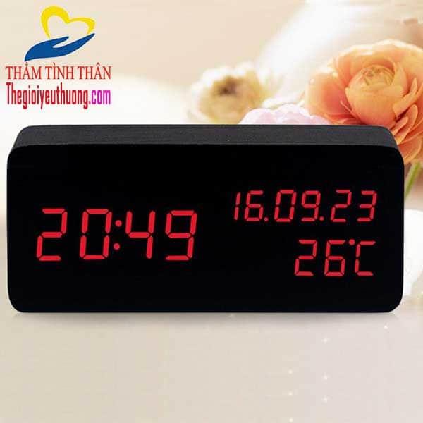 Đồng hồ để bàn LED mini - Quà tặng NAtra