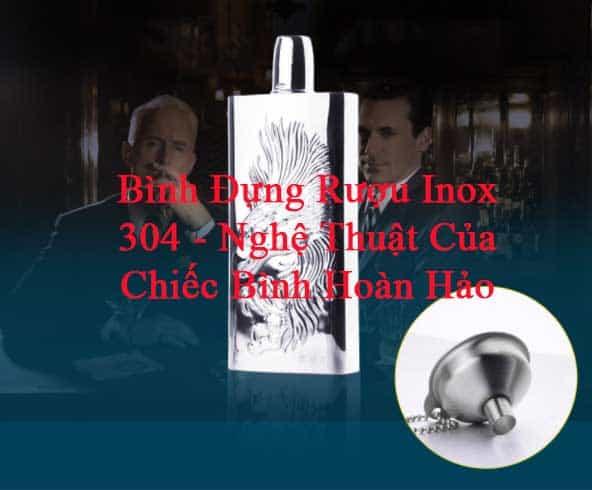 Bình Đựng Rượu INOX, Nâng tầm nghệ Thuật Thưởng Thức Rượu!!!!!