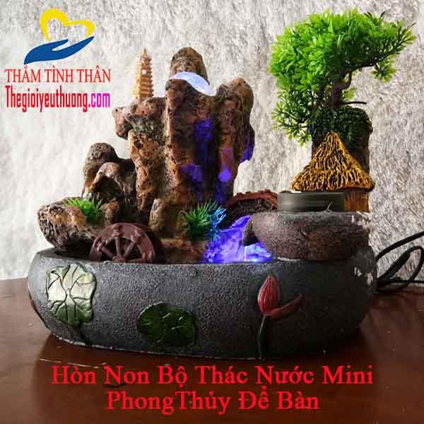 [13 Mẫu Hòn Non Bộ Mini ] Đẹp Hút Hồn-Hút Tài Lộc-Rạng Ngời Ngôi Nhà Bạn 2018