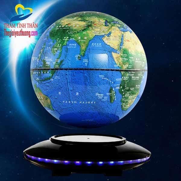 Quả địa cầu lơ lửng tự quay thế hệ 5