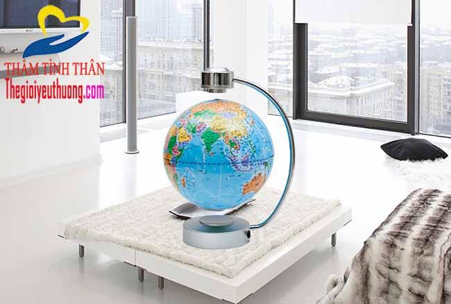 Quả địa cầu từ trường đường kính 21 cm độc lạ
