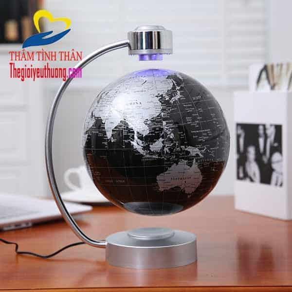 Quả địa cầu quay trong từ trường 8 inch