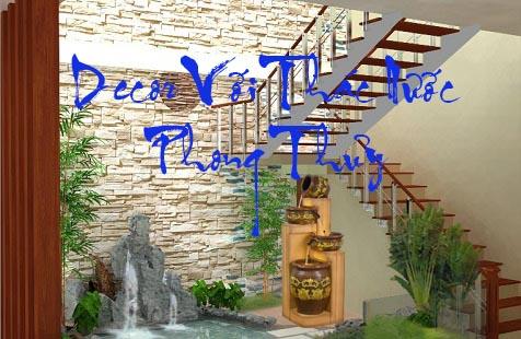 Thác Nước Phong Thủy Trong Trang Trí Nội Thất