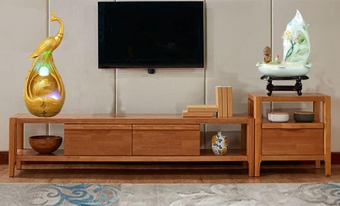 Sự kết hợp Thác nước phong thủy trong trang trí nội thất