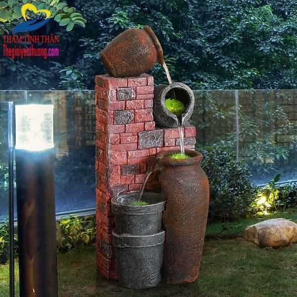 Đài phun nước mini sân vườn, Nét đẹp Hoàn Mỹ