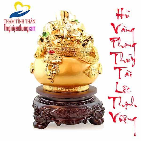 Hũ Vàng Phong thủy Tài Lộc