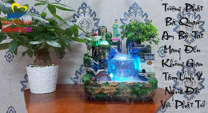 Nghệ thuật ánh sáng huyền ảo cho Hồ cá thủy sinh mini thêm lung linh