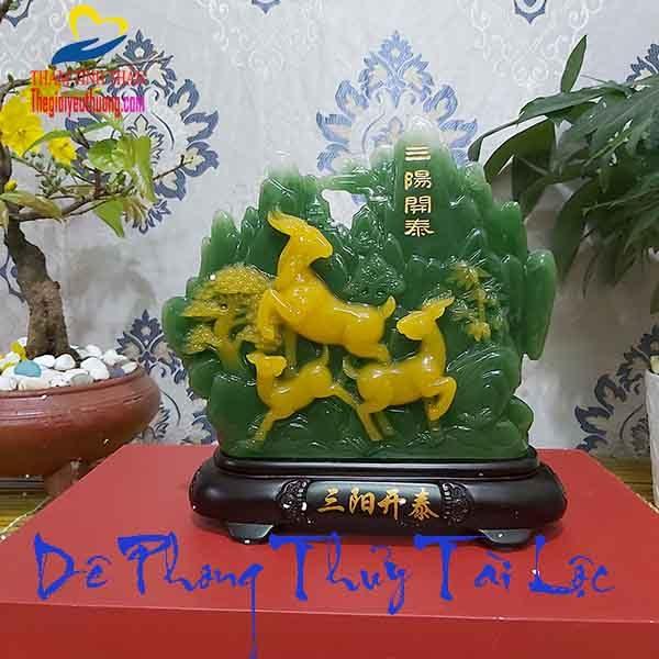 Tượng Dê Phong Thủy – Biểu Tượng Cho Thịnh Vượng – Tài Lộc – May Mắn