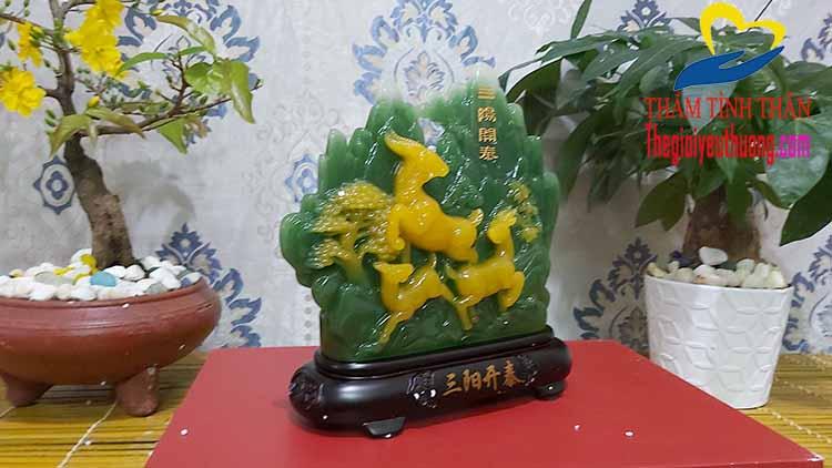 Dê, Biểu tượng của May Mắn, Thịnh Vượng
